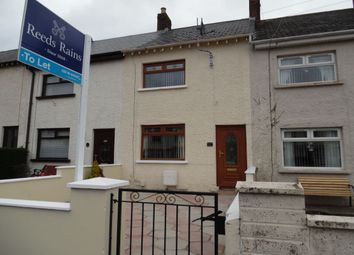 Thumbnail 2 bedroom terraced house to rent in Whitewell Road, Newtownabbey