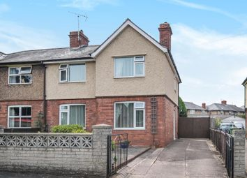 Thumbnail 3 bed semi-detached house for sale in Ross Road, Hereford