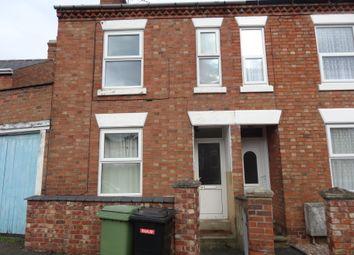 Thumbnail 3 bedroom terraced house to rent in George Street, Wellingborough