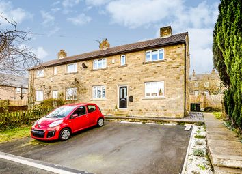 Thumbnail 3 bed semi-detached house for sale in North Drive, Golcar, Huddersfield, West Yorkshire