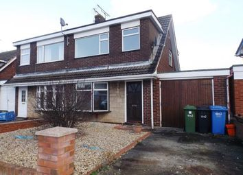 Thumbnail 3 bed semi-detached house for sale in Violet Grove, Rhyl, Denbighshire