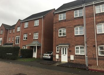 Thumbnail 4 bed semi-detached house for sale in Harker Drive, Coalville, 4