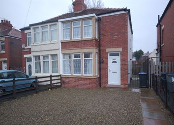 Thumbnail 2 bed semi-detached house to rent in Kingscote Drive, Blackpool