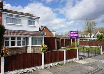 Thumbnail 3 bed semi-detached house for sale in Woolacombe Avenue, St. Helens
