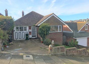 Thumbnail 4 bed detached bungalow for sale in Oaklands Avenue, Saltdean, Brighton