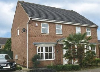 Thumbnail 3 bed semi-detached house to rent in Ryngwell Close, Brixworth, Northampton