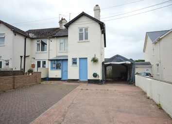 Thumbnail 3 bed semi-detached house for sale in Coach Road, Silverton, Exeter