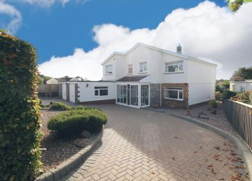 Thumbnail Detached house for sale in Long Shepherds Drive, Caswell, Swansea