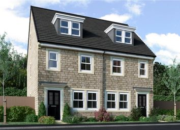 "Thumbnail 3 bed semi-detached house for sale in ""Tolkien"" at Windmill View, Scholes, Holmfirth"