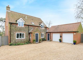 Thumbnail 4 bed detached house for sale in Fulmodestone Road, Hindolveston, Dereham