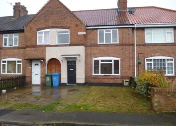 Thumbnail 3 bed terraced house to rent in Suffolk Grove, Bircotes, Doncaster