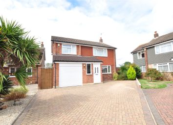 Thumbnail 3 bed detached house for sale in Hereford Close, Staines-Upon-Thames, Surrey