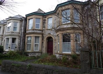Thumbnail 1 bed flat to rent in Houndiscombe Road, Plymouth