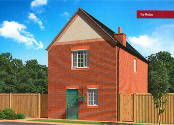 Thumbnail 3 bed detached house for sale in The Minton, Burton Road Tutbury, Staffordshire