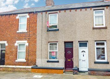 Thumbnail 2 bed terraced house for sale in 3 Tithebarn Street, Carlisle, Cumbria