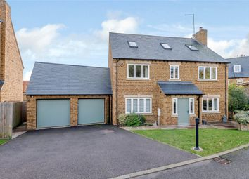 Thumbnail 5 bed detached house for sale in Convent Gardens, High Street, Great Billing, Northampton