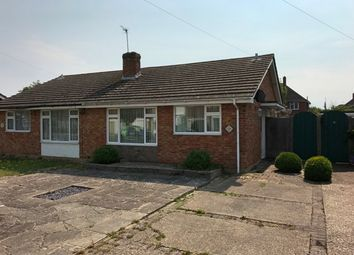 Thumbnail 2 bed bungalow for sale in Mayfield Close, Nyetimber, Bognor Regis, West Sussex.