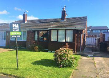 Thumbnail 2 bed semi-detached bungalow for sale in Croft Avenue, Burscough, Ormskirk