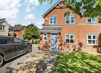 Thumbnail 3 bed semi-detached house for sale in Kirkwood Close, Aspull, Wigan
