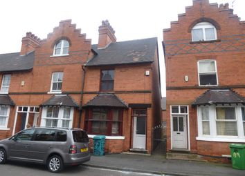 Thumbnail 3 bedroom end terrace house for sale in Foxhall Road, Nottingham