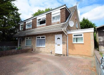Thumbnail 3 bed semi-detached house for sale in Newgale Close, Barry