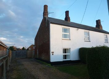 Thumbnail 3 bed semi-detached house to rent in Hollycroft Road, Emneth, Wisbech