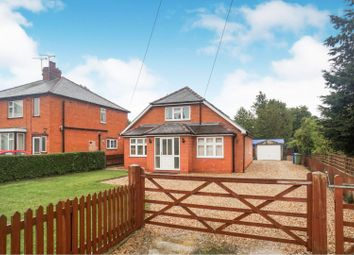 Thumbnail 4 bed detached bungalow for sale in Station Road, Bardney