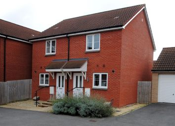 Thumbnail 2 bed semi-detached house for sale in Carolina Close, North Petherton, Bridgwater