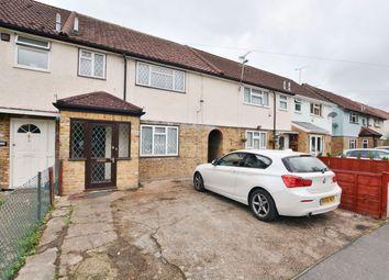 Thumbnail 4 bed terraced house to rent in Frays Waye, Cowley, Uxbridge