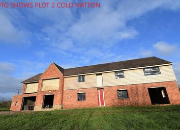 Thumbnail 5 bedroom detached house for sale in Plot 2 Cold Hatton, Telford, Shropshire