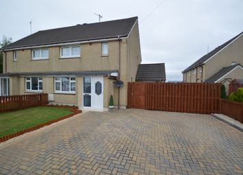 Thumbnail 2 bed semi-detached house for sale in Dundonald Crescent, Auchengate, Irvine, North Ayrshire
