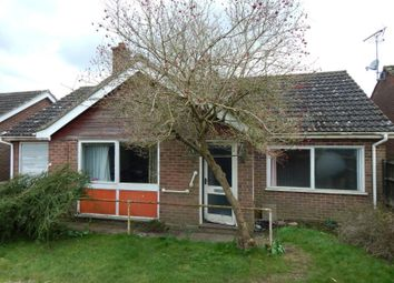 Thumbnail 2 bed detached bungalow for sale in 63 Westfields, Narborough, King's Lynn, Norfolk