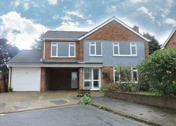 Thumbnail 4 bed detached house to rent in Meadowvale Close, Ipswich