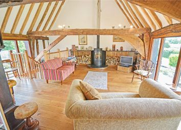 Thumbnail 4 bed barn conversion for sale in Market Weston Road, Thelnetham, Diss