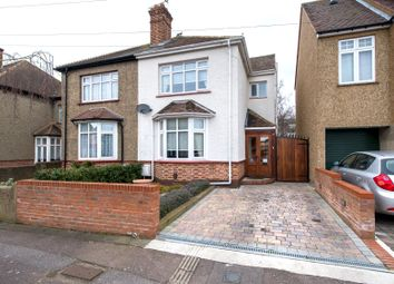 Thumbnail 3 bedroom semi-detached house for sale in Portland Avenue, Gravesend