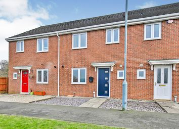Thumbnail 3 bed terraced house for sale in Hilltop Walk, Langley Park, Durham, Durham