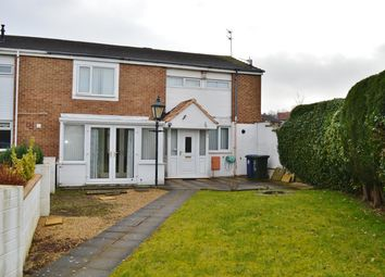 Thumbnail 3 bed end terrace house for sale in Conifer Close, Ormesby, Middlesbrough