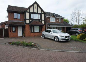 Thumbnail 4 bed detached house for sale in Tenbury Close, Great Sankey, Warrington