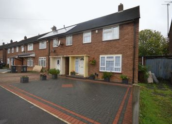 Thumbnail 3 bedroom end terrace house for sale in Whitethorn Way, Luton
