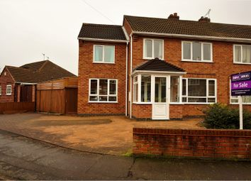 Thumbnail 4 bed semi-detached house for sale in Repton Road, Wigston