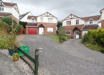 Thumbnail 4 bed detached house for sale in Waunbant Court, Clwydyfagwr, Merthyr Tydfil