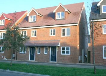 Thumbnail 3 bed terraced house to rent in Rowan Way, Angmering, Littlehampton