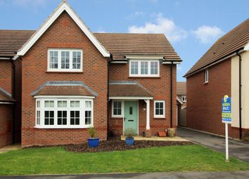 Thumbnail 4 bed detached house for sale in Earls Court Way, Worcester, Worcester
