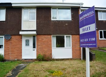 Thumbnail 3 bed terraced house to rent in Tame Rise, Oldbury