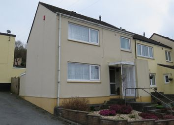 Thumbnail 3 bed end terrace house for sale in Mersey Close, Deer Park, Plymouth