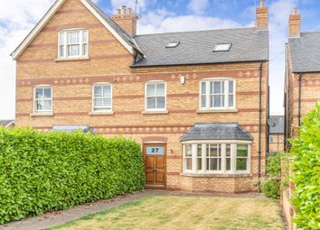 Thumbnail 4 bed semi-detached house for sale in New Cross Road, Stamford