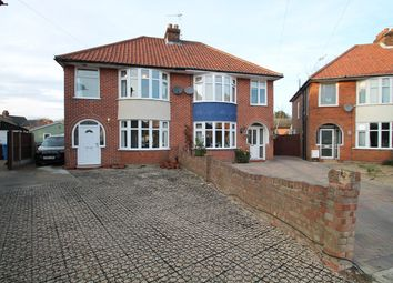 Thumbnail 3 bed semi-detached house for sale in Roy Avenue, Ipswich
