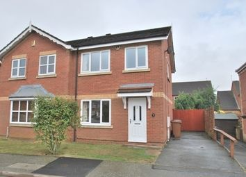 Thumbnail 3 bed property to rent in Cross Waters Close, Northampton