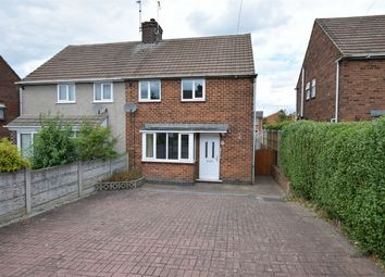 Thumbnail 2 bed semi-detached house for sale in Pease Hill, Alfreton, Derbyshire