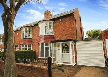 Thumbnail 2 bed semi-detached house for sale in Walwick Road, Whitley Bay, Tyne And Wear